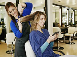 Database of Hairdressers in Spain
